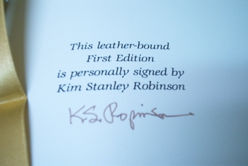 Kim Stanley Robinson signed