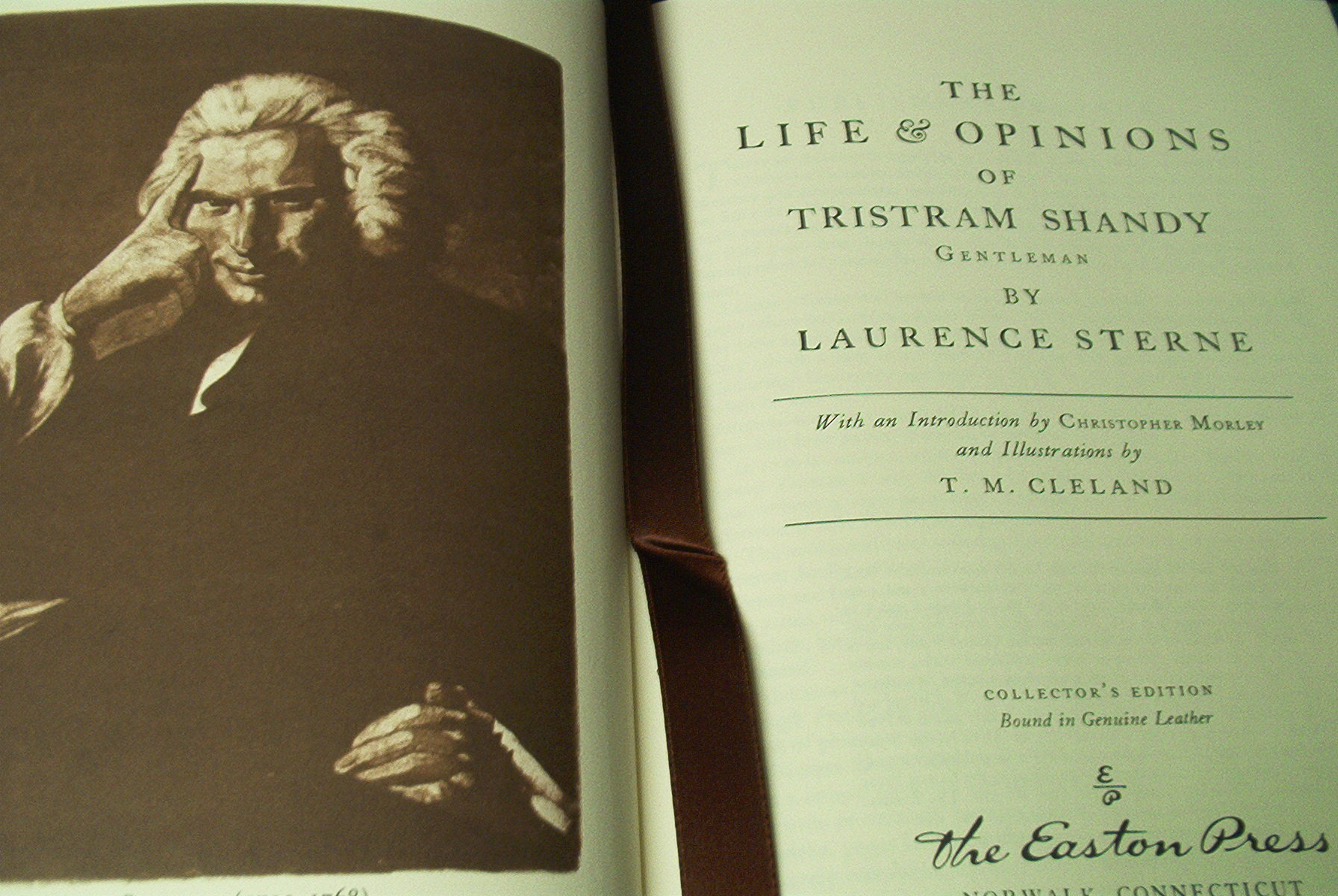 The Life & Opinions of Tristram Shandy