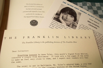 Franklin Library Anne Tyler