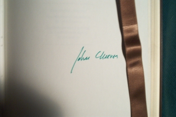 John Cheever signed