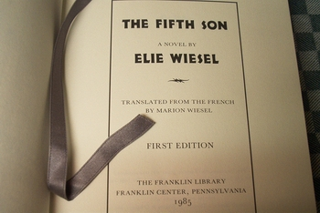 Elie Wiesel The Fifth Son