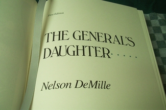 The General's Daughter leather bound