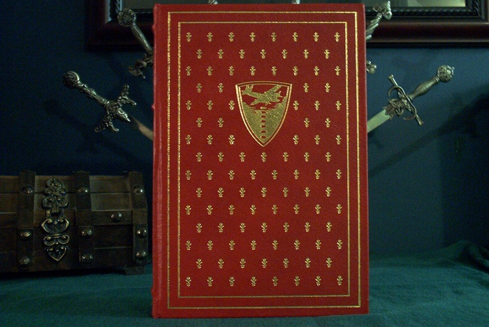 Gods of War leather bound book