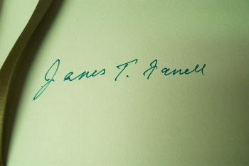 James Farrell signed