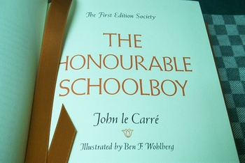 The Honourable Schoolboy John Le Carre