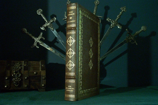 Leather bound book The Affair