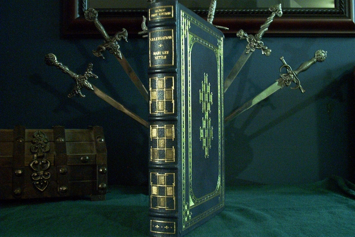 Franklin Library leather bound book Mary Lee Settle