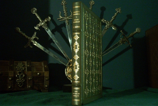 Franklin Library Young Lonigan leather bound book