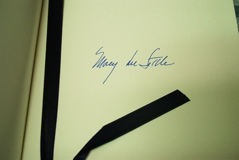 Mary Lee Settle signed