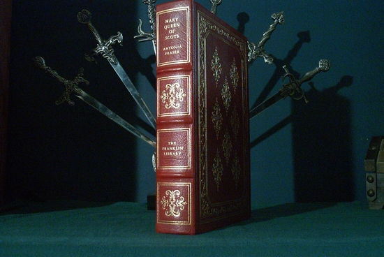 Franklin Library Mary Queen of Scots leather bound book