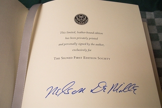Nelson DeMille signed