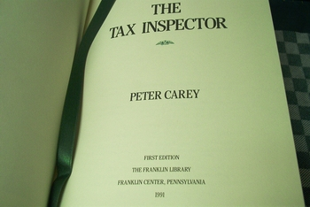 Peter Carey The Tax Inspector