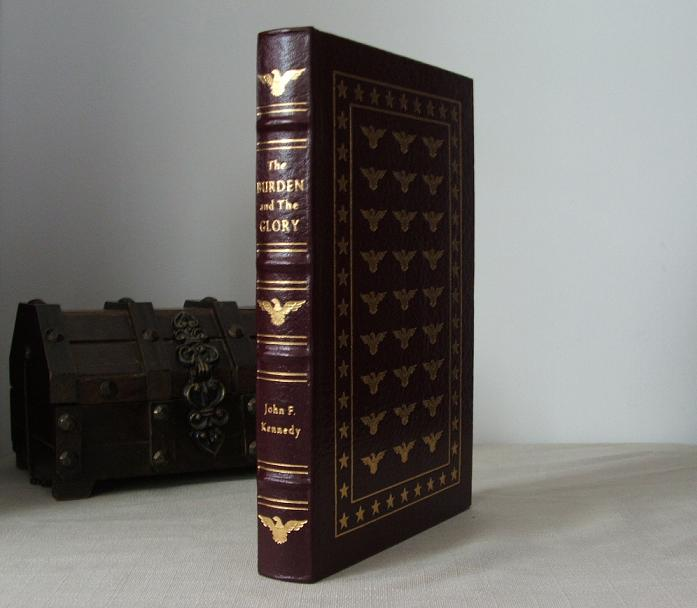 John F. Kennedy Easton Press leather bound book