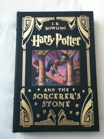 Harry Potter leather bound book