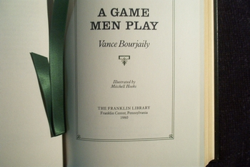A Game Men play