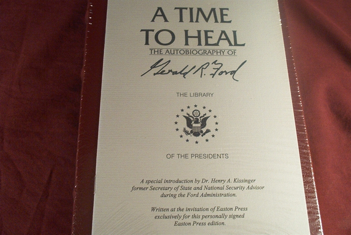President Gerald Ford signed