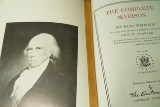 President James Madison portrait